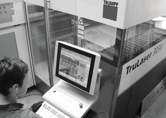 achberg production - sheet metal laser cutting