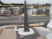 Monolithe - monolithe en marbre