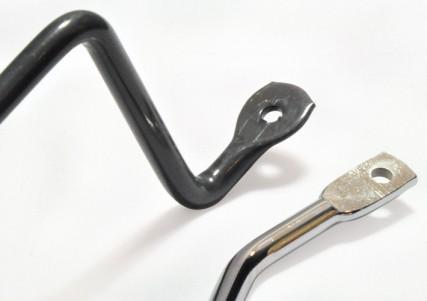 Pièces en fil métallique écrasées