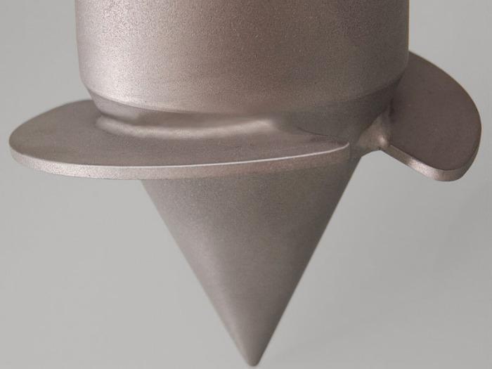 Silo-drill - Muestreador para mercancías a granel, acero inoxidable, para camiones