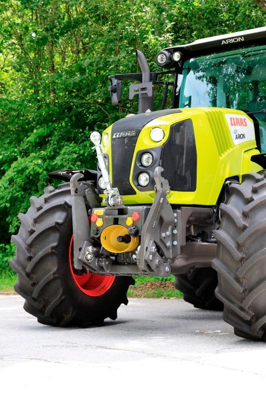 STKVF-Frontsysteme f. Claas-Traktoren - null