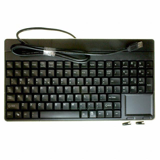 KEYBOARD 106 KEY USB BLK - Cherry Americas LLC G8662401EUADAA
