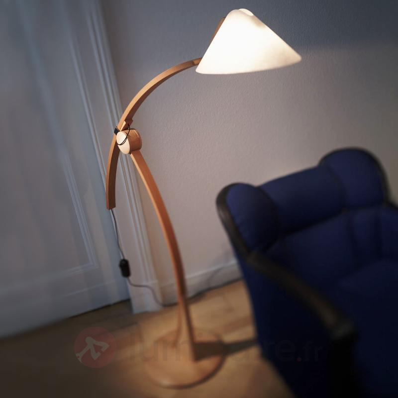 Lampadaire POLLO - Lampadaires en bois