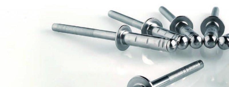 G-Bulb (blind rivets) - High strength blind rivet – in carbon steel and stainless steel, wide grip range
