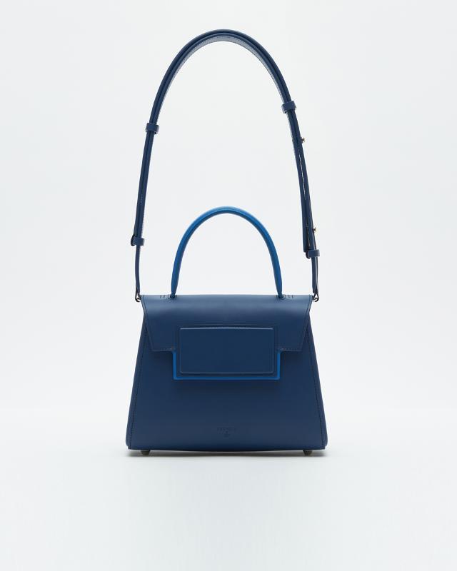 Mini-trapezium Bag Navy - POWERWOMAN