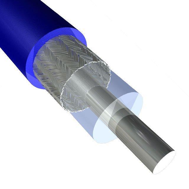 CABLE MICRO COAXIAL 42AWG 200' - Molex - Temp Flex 1000650023