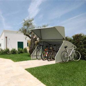 ART BOX V1 - Box rimessa per biciclette e moto
