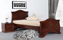 "Bed ""Lyudmila 14"" Light Walnut - Bedroom furniture"