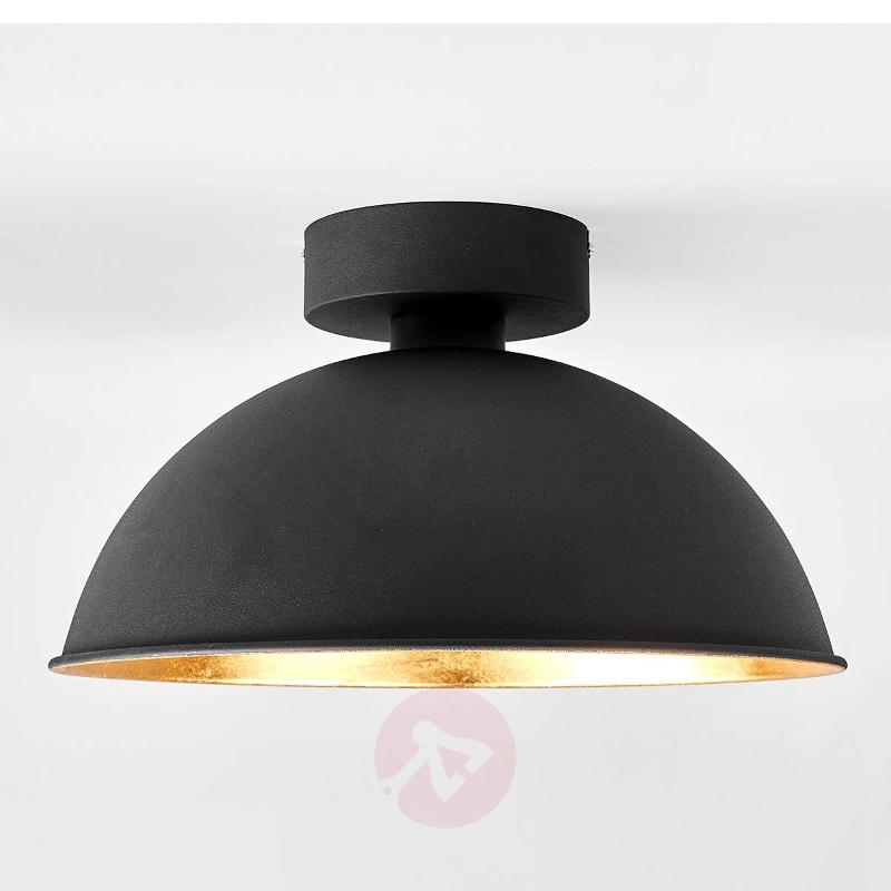 Golden-black ceiling lamp Stacy with OSRAM LEDs - Ceiling Lights
