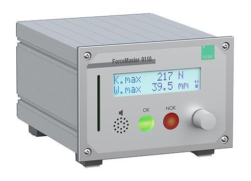 低成本手动压机监控 - FORCEMASTER 9110 - 开发用于监控手动杠杆压力机。 PLC-slotcards上的一个按钮操作和不同过程的数据允许每个用户快速更改压配合程序。 迷人的低成本设备,用于精确的质量监控