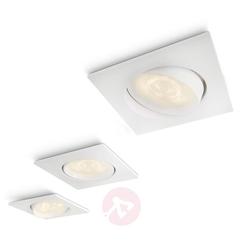 Set of 3 Galileo smart spots with LEDs - Recessed Spotlights