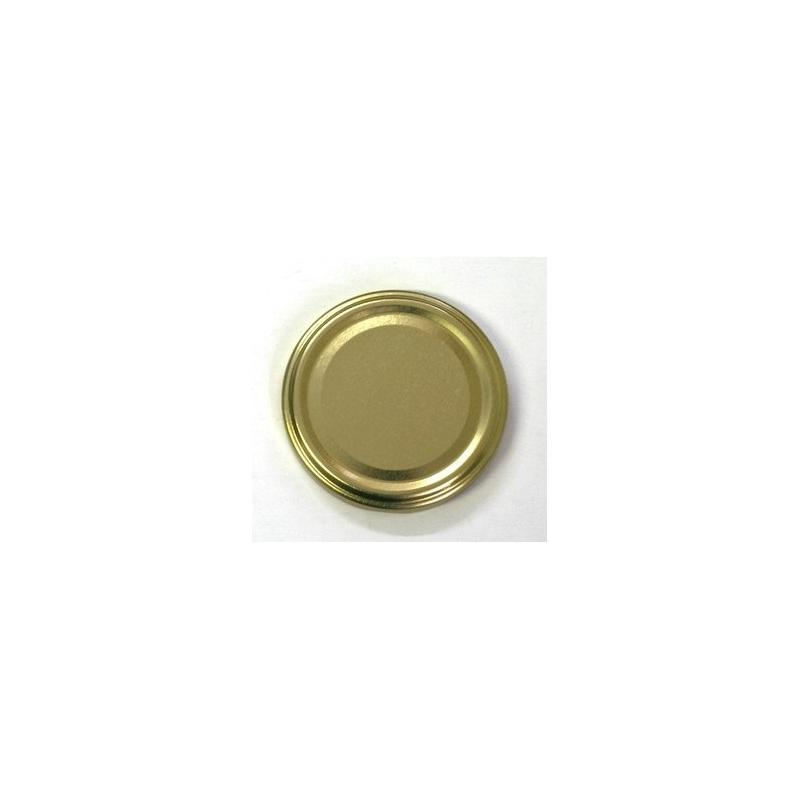 100 caps TO 100 mm Gold color for pasteurization - GOLD