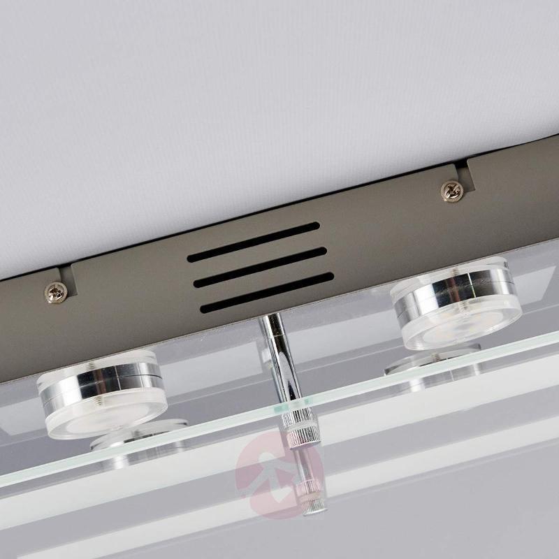 Rectangular LED ceiling light Karlina - Ceiling Lights