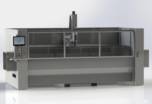 Banc d'usinage à CN 4 axes - MC 400 A