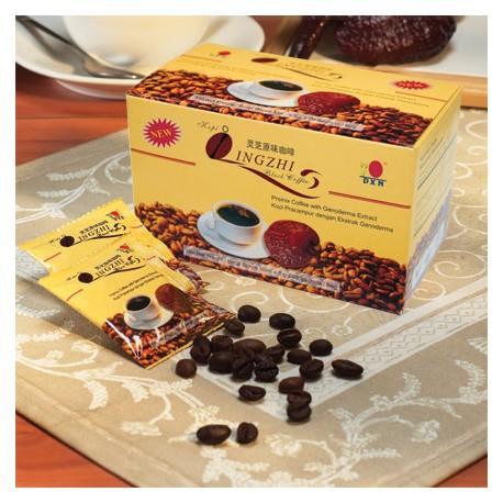 Caffè nero con ganoderma -