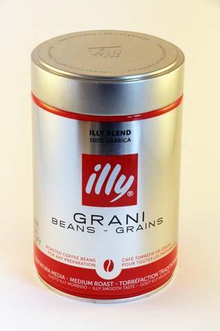 Illy Beans Medium 250gr