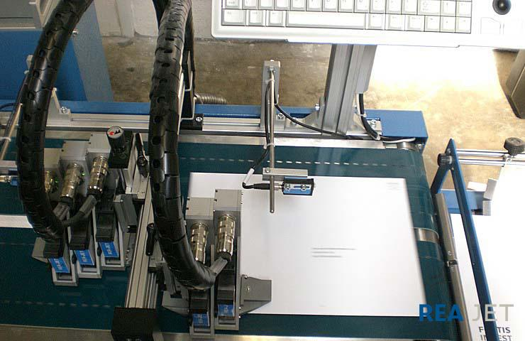 High Resolution Ink Jet Printer - REA JET HR - High Resolution Ink Jet