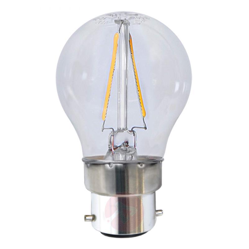 B22 2 W 827 LED golf ball bulb - light-bulbs