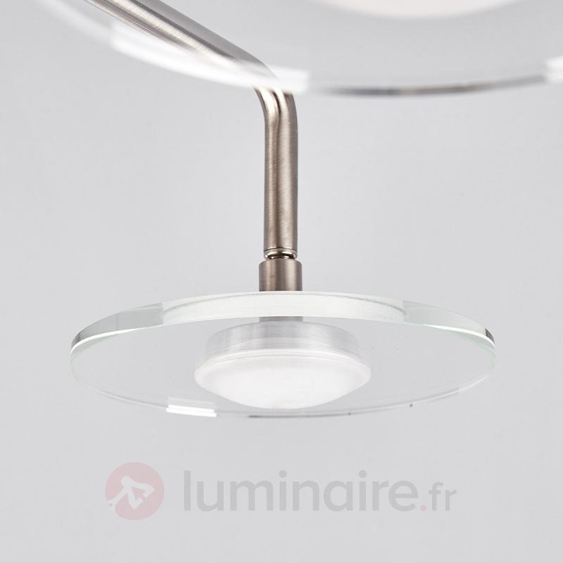 Plafonnier LED à quatre lampes Tiam - Plafonniers LED