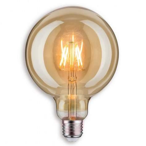 E14 2.5 W 825 LED golf ball bulb gold - light-bulbs