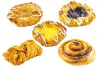 Danish pastry mini mix, v. of 5 - Minis
