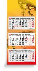 3 Months calendars - 3 Months Maxi Compact