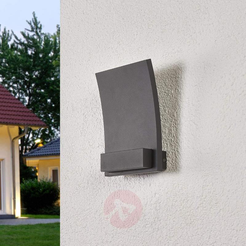 Matilda - curved LED outdoor wall light with IP54 - Outdoor Wall Lights