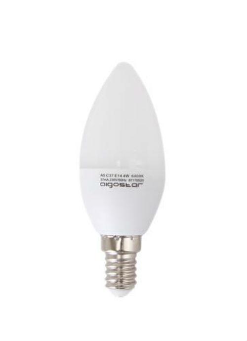 Lampadine LED E14 - 3/4/5/6W opaca 3000/6400K 240/255/320/340/400/425/480/500lm