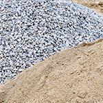 Sables et graviers - Matériaux de construction