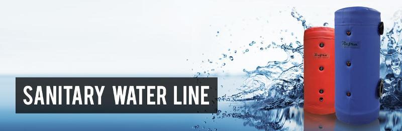 Buffer tanks & Calorifiers - Sanitary water line