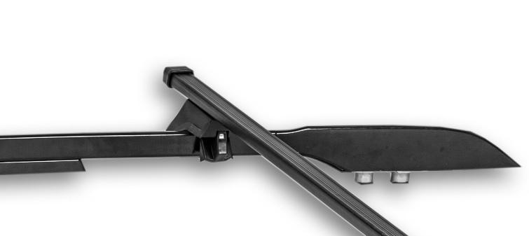 Rack rails - Rectangular arc 1,3 m