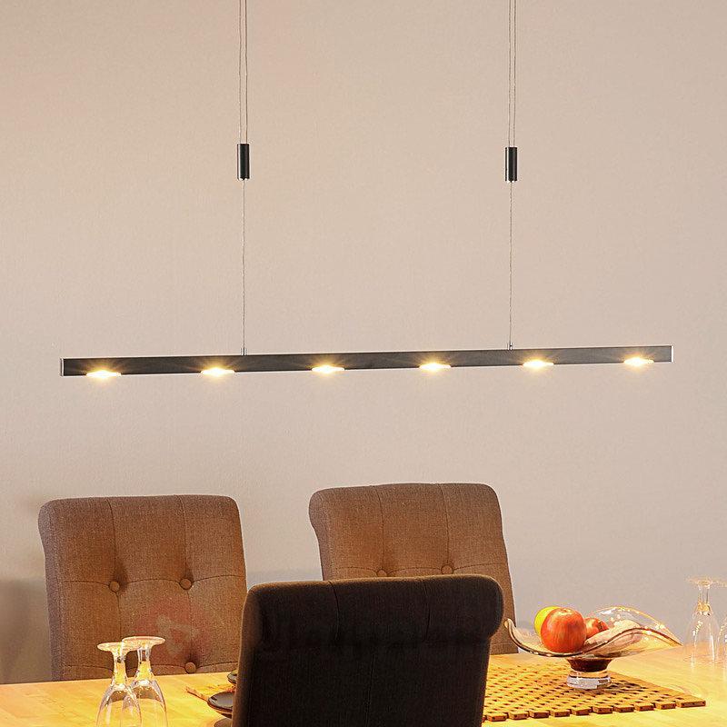 Suspension LED Sina de couleur anthracite - Suspensions LED