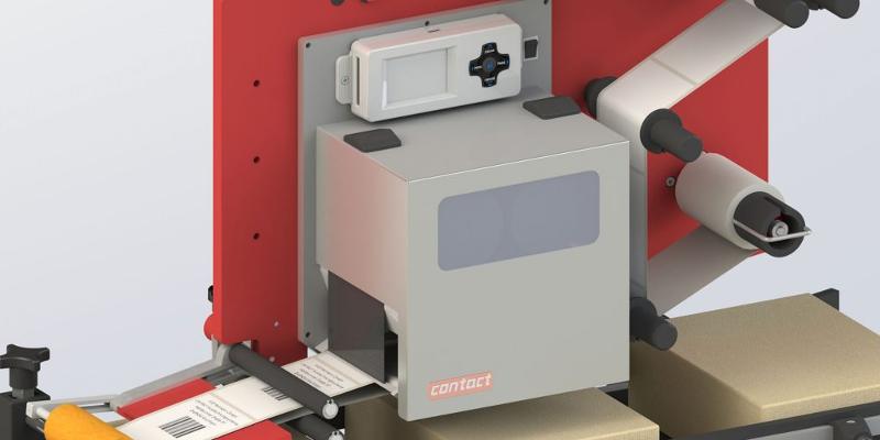 Etikettieranlagen - Druck- & Spendeanlage P-Serie