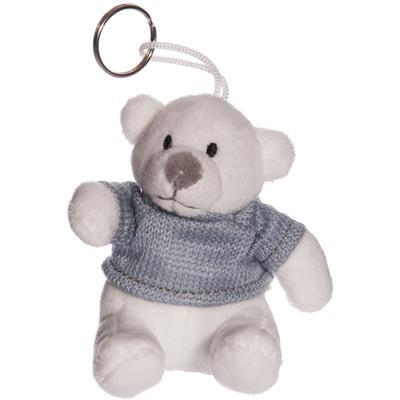 BEAR WITH T-SHIRT KEYCHAIN IN PLUSH - Item No. 1055099