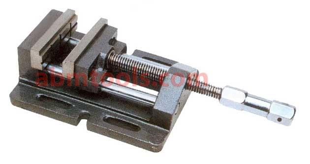 Drill Vice German Type - The vise is built to be fastened right onto your drill press table with slots