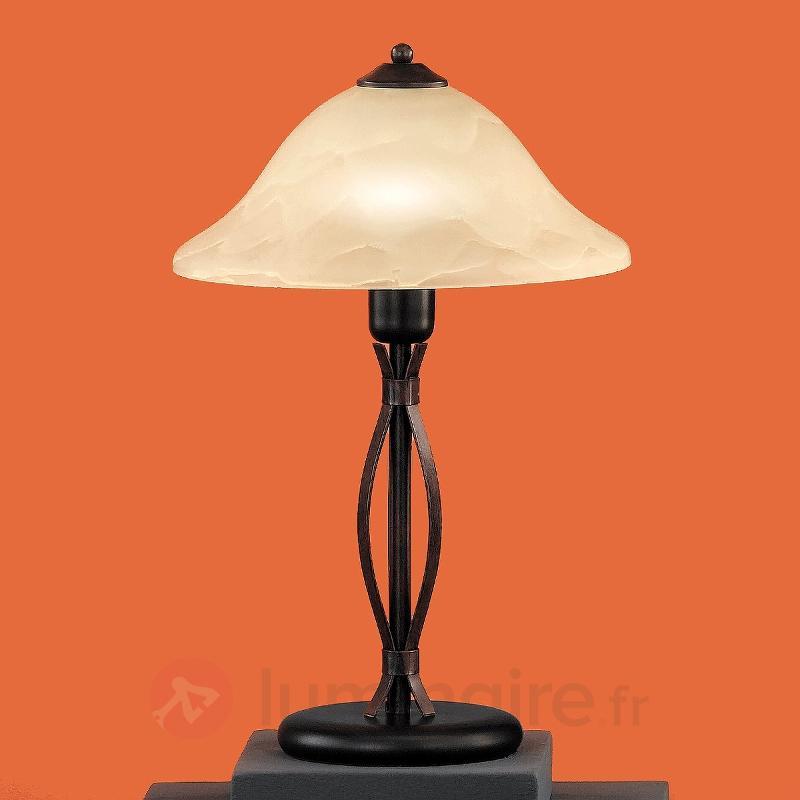 Lampe à poser Dana - Lampes à poser rustiques