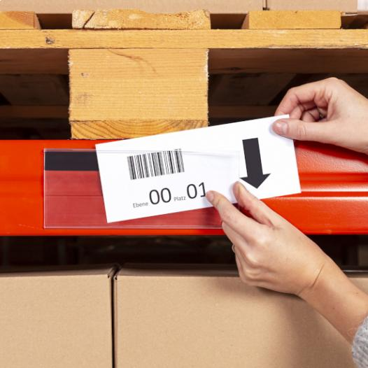 Label Holder AL / AM - with self adhesive tape or magnetic stripe