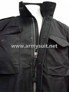 M65 Field Jacket Black - PNS-MJ01