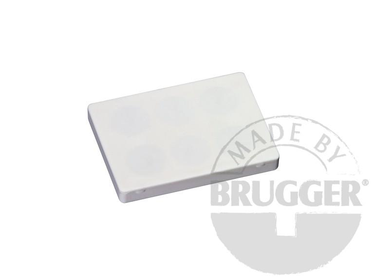 Magnet assembly, NdFeB, rubber coat white, with... - null