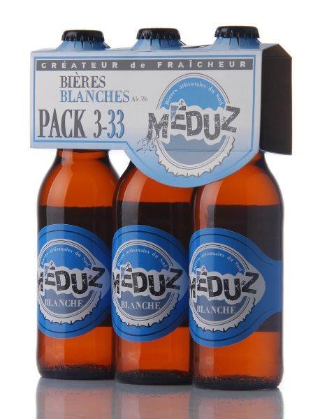 Meduz Blanche 3x33cl - Boissons