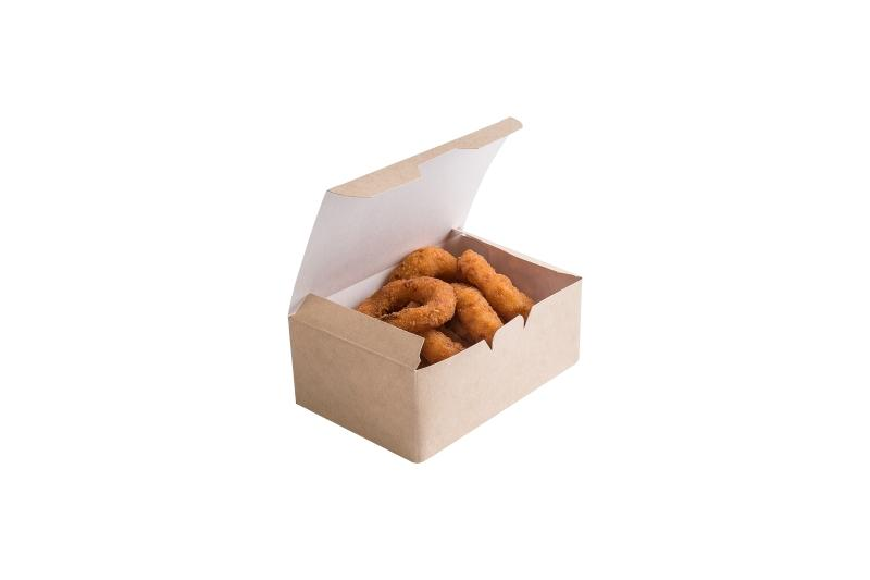 Nugget Box - Kraft box for nuggets, french fries and onion rings