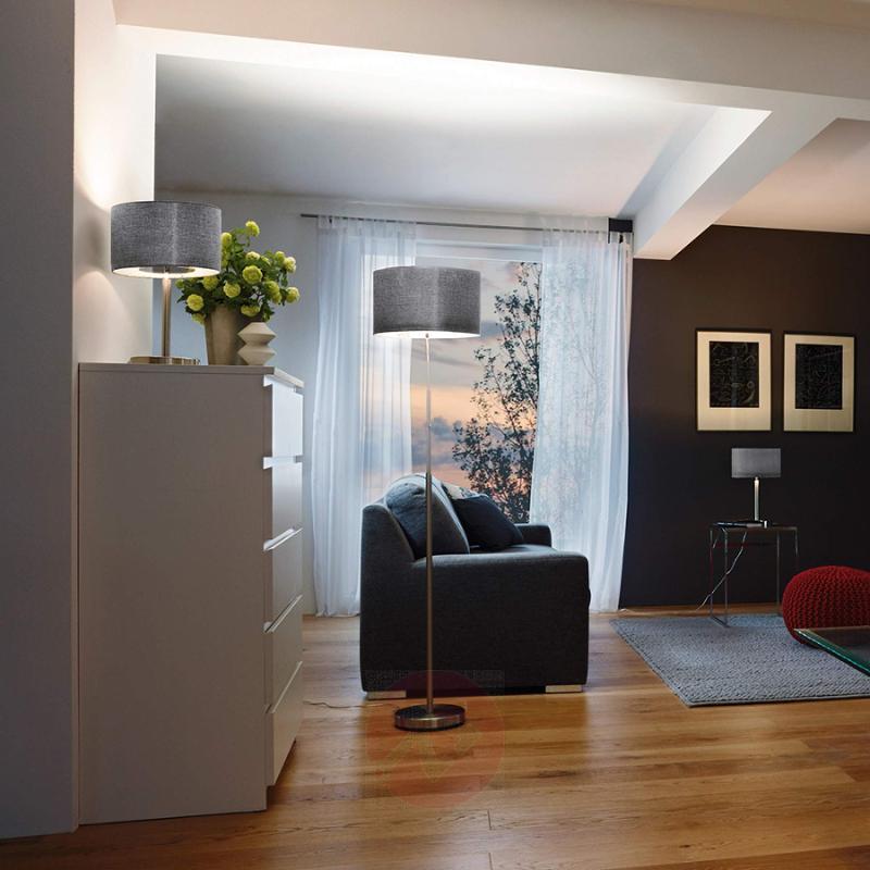 Fabric floor lamp Romano with LED light - indoor-lighting