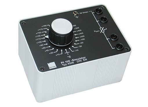 Simulatore Pt100 per la calibrazione - 4506, 4506S - Simulatore Pt100 per la calibrazione - 4506, 4506 S