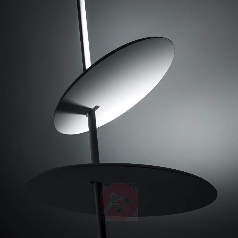 LED designer ceiling lamp Lua in white - Ceiling Lights