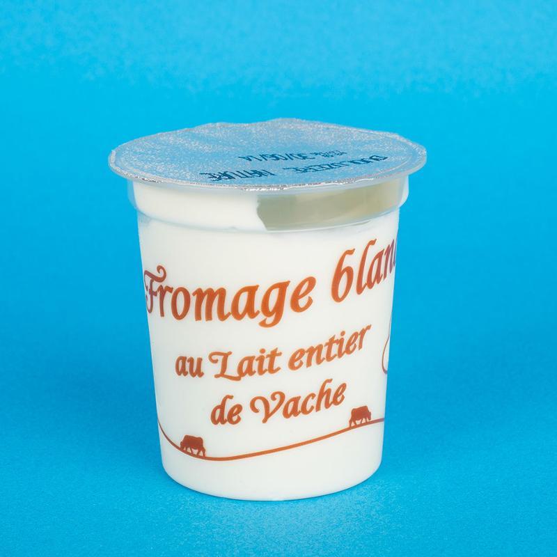 Fromage blanc doux et onctueux 5KG - Produits laitiers