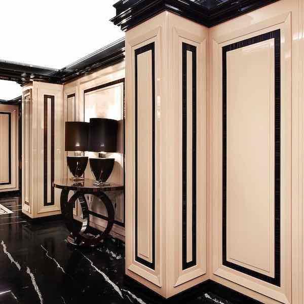 Элитные стеновые панели буазери из дерева на заказ - Уникальный дизайн, ценные породы дерева, эксклюзивные финишные отделки