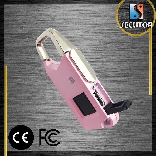 Silver Color Fingerprint Travel Bag Luggage Lock - Popular Style CE FCC Silver Color Fingerprint Travel Bag Luggage Lock