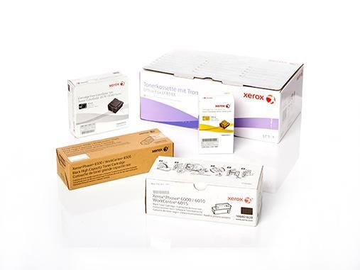 Original XEROX Verbrauchsmaterialien und Ersatzteile