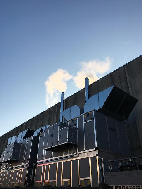 impianti industriali - condizionamento, climatizzazione, aspirazione, impianti Atex, antincendio