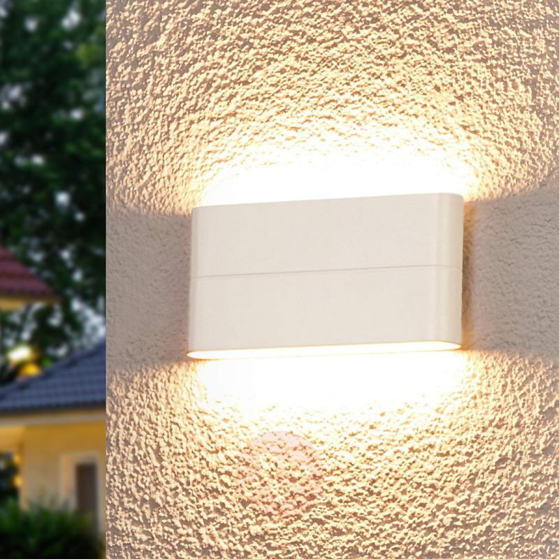 Attractive LED wall lamp Piala for outdoors - outdoor-led-lights